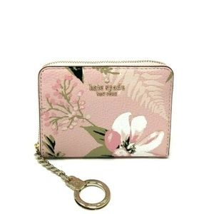 Kate Spade Briar Lane Botanical Dani Pink Wallet